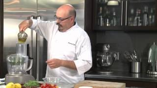 How to make Farinata with Cherry Tomato --Recipe by Massimo Capra