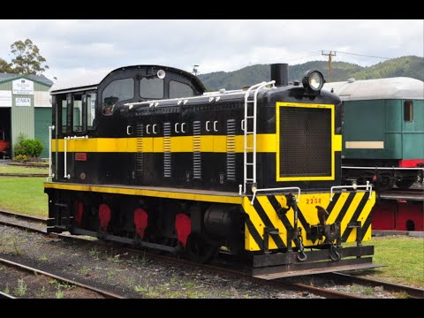 A Visit To The Bay Of Islands Vintage Railway November 16th 2019