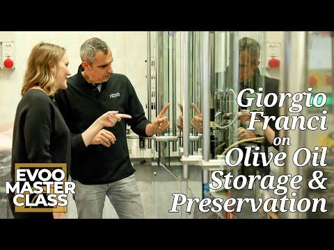 Giorgio Franci on Olive Oil Storage & Preservation - EVOO Master Class