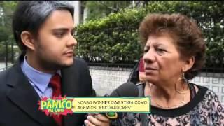 PÂNICO TESTE COM ENCOXADORES NO METRÔ DE SP