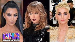 Taylor Swift DRAGS Kim Kardashian - Katy Perry ENDS FEUD with Taylor Swift (DHR)