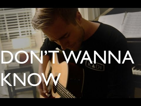 Don't Wanna Know - Maroon 5 (Acoustic Cover)