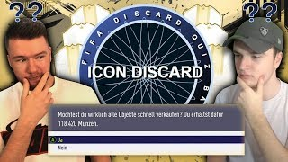 FIFA 19: ICON QUIZ DISCARD BATTLE 😱😱 NEUES FORMAT