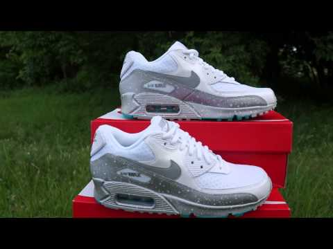 Air Max White Metallic Silver Turbo Green