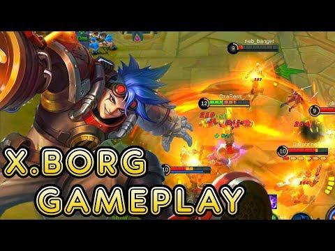 New Hero X.Borg Gameplay - Mobile Legends Bang Bang