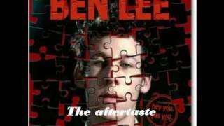 Ben Lee Aftertaste Lyrics