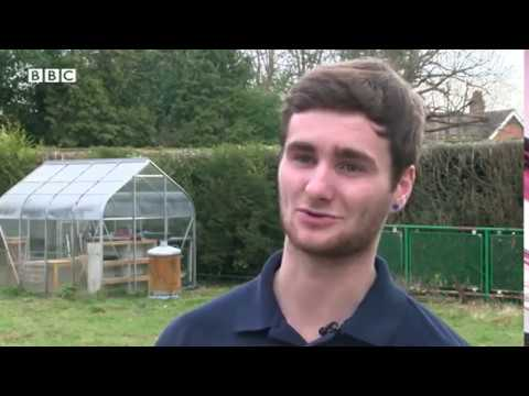 BBC South Today  - European gardener of the year!