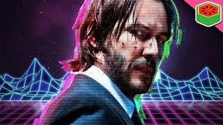 John Wick but if it was synthwave