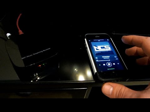 SoundMate-AirMusic-AirPlay-WIFI-DLNA-Music-Audio-Radio-Streaming-Receiver-For-IOS-Android Unboxing