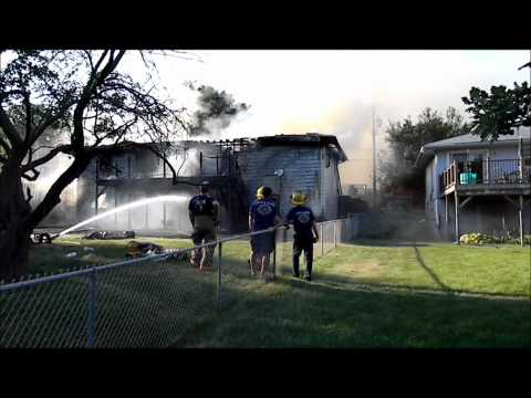 Home engulfed in flames + it was 106 degrees outside Extreme heat