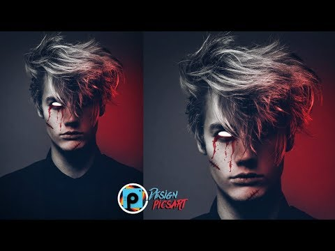 Picsart Tutorial Demon Look Make In Pics Art😱😱