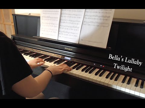 Bella's Lullaby - Twilight by Carter Burwell | Piano Cover