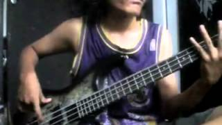Cryptopsy - Mutant Christ on bass guitar