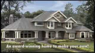 Craftsman House Plans - Cedar Crest Craftsman House Plan