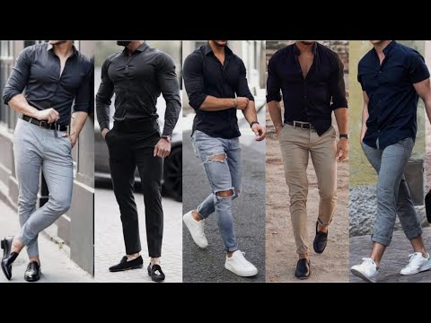 Black Shirt | Black Shirt Outfits Ideas For Men | Formal Clothing | 2019 | Stylish Black Shirt