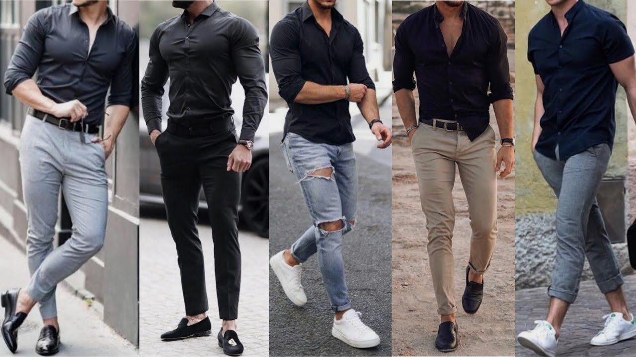 images Black Style Formal Black Style Shirts For Men black shirt black shirt outfits ideas for men formal clothing 2019 stylish black shirt