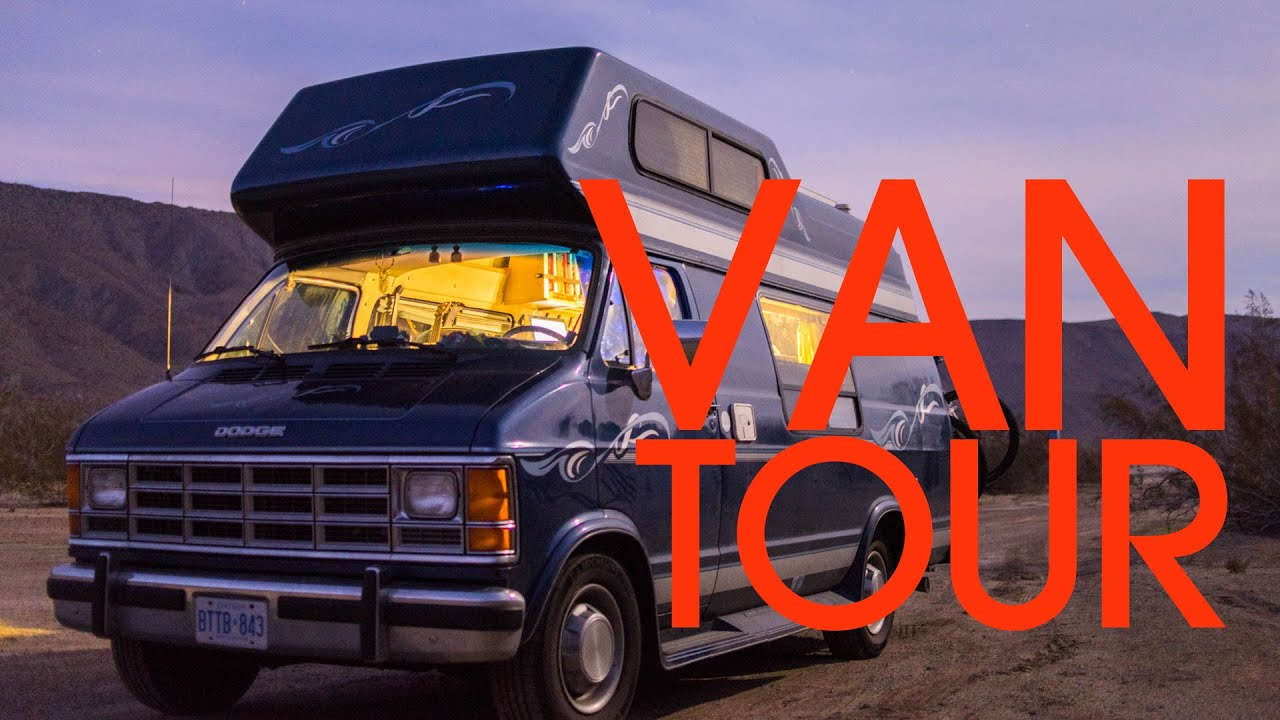 Van Tour my 90's Camper Home