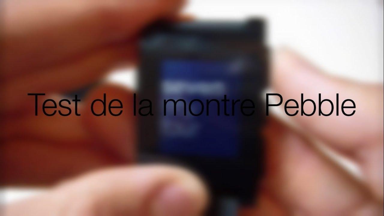 (français) Test de la Pebble par iPhoneSoft.fr