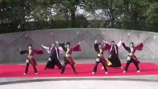 七福神さん「けやき公園」 結城舞祭2014 結城舞衣 動画 16