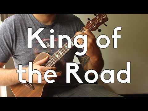 How to Play - KIng Of The Road - Roger Miller - Intermediate Songs - Ukulelel Tutorial w/Play-A-Long