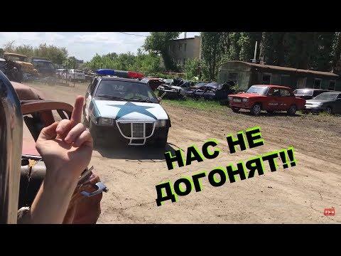 МЕСТЬ ТАЗОВ и ДПС погоня, Москвич 412 против ВАЗ 2114