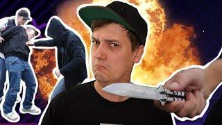 Würdest DU zum Messer greifen? Und Verschwörungen & Schläge auf YouTube..