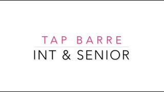 In&Senior Tap Barre