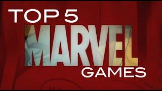 Top 5 Marvel Games