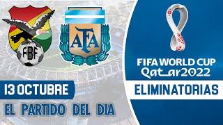 Eliminatorias Qatar 2022 - BOLIVIA vs ARGENTINA | Jornada 2