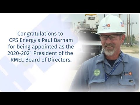 Paul Barham, Sr. VP of EDS, CPS Energy, Takes the Helm as Rocky Mountain Electric League (RMEL)'s 2020-2021 President