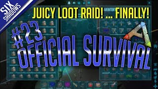IT'S MY LUCKY DAY! - Official PvP - New Servers | Episode 23 - Ark: Survival Evolved