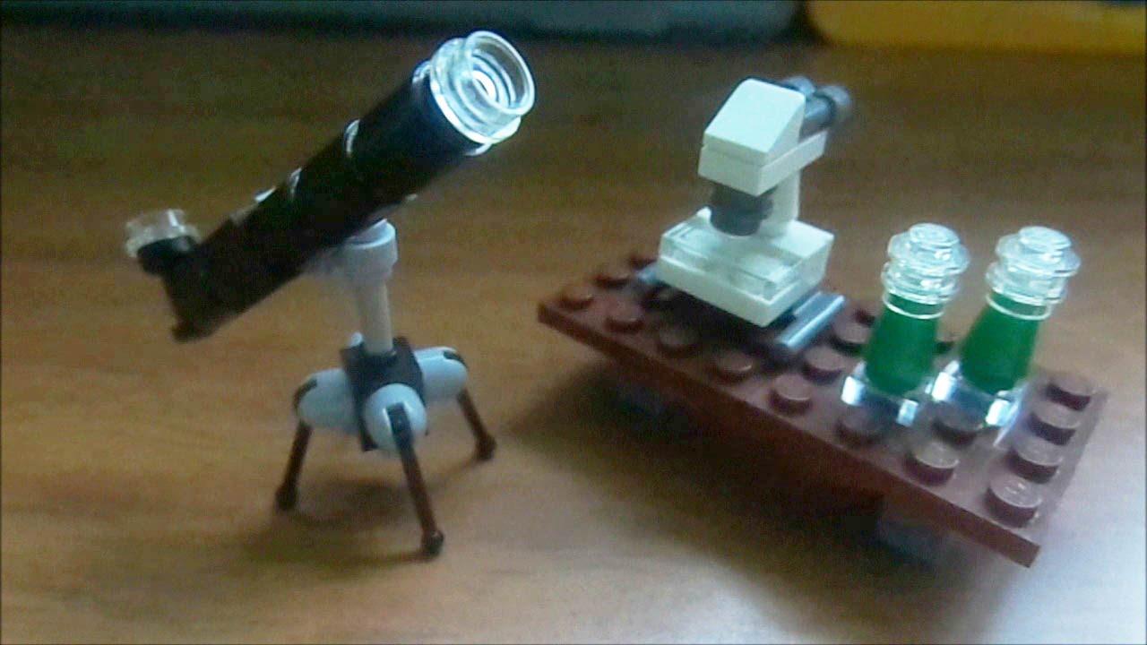 Como hacer un telesc pico y un microscopio lego m p - Como construir un tejado ...