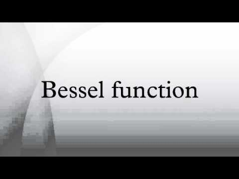 Bessel function - YouTube