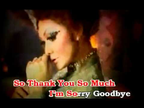 I'M SORRY GOODBYE - KRISDAYANTI