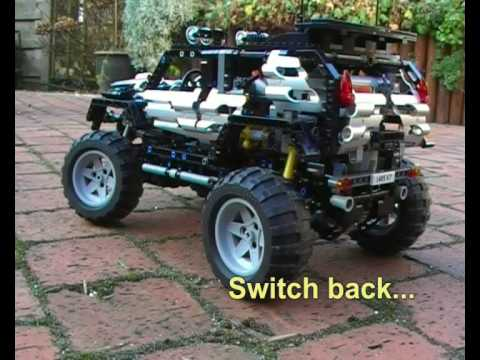 lego off roader 8297 pimped motorized youtube. Black Bedroom Furniture Sets. Home Design Ideas