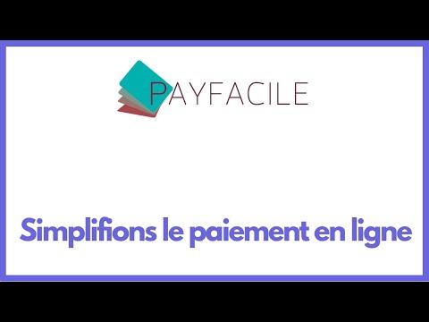 Payfacile - Vendre sur Internet en moins de 2 minutes