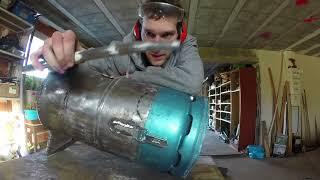 Fabrication poêle a bois version 2.0 (plus chaud, plus robuste) étape par étape