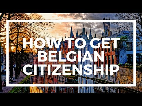 How to get Belgian citizenship
