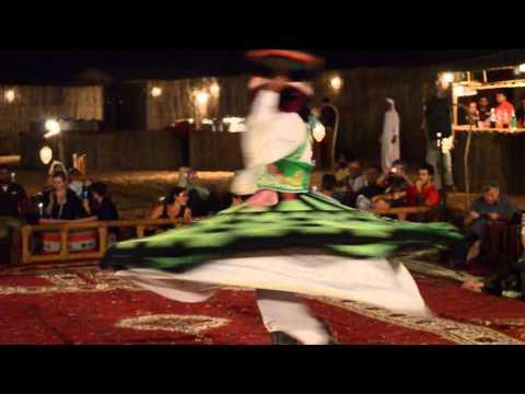 Tanoura Dance in Dubai Desert Conservation Reserve