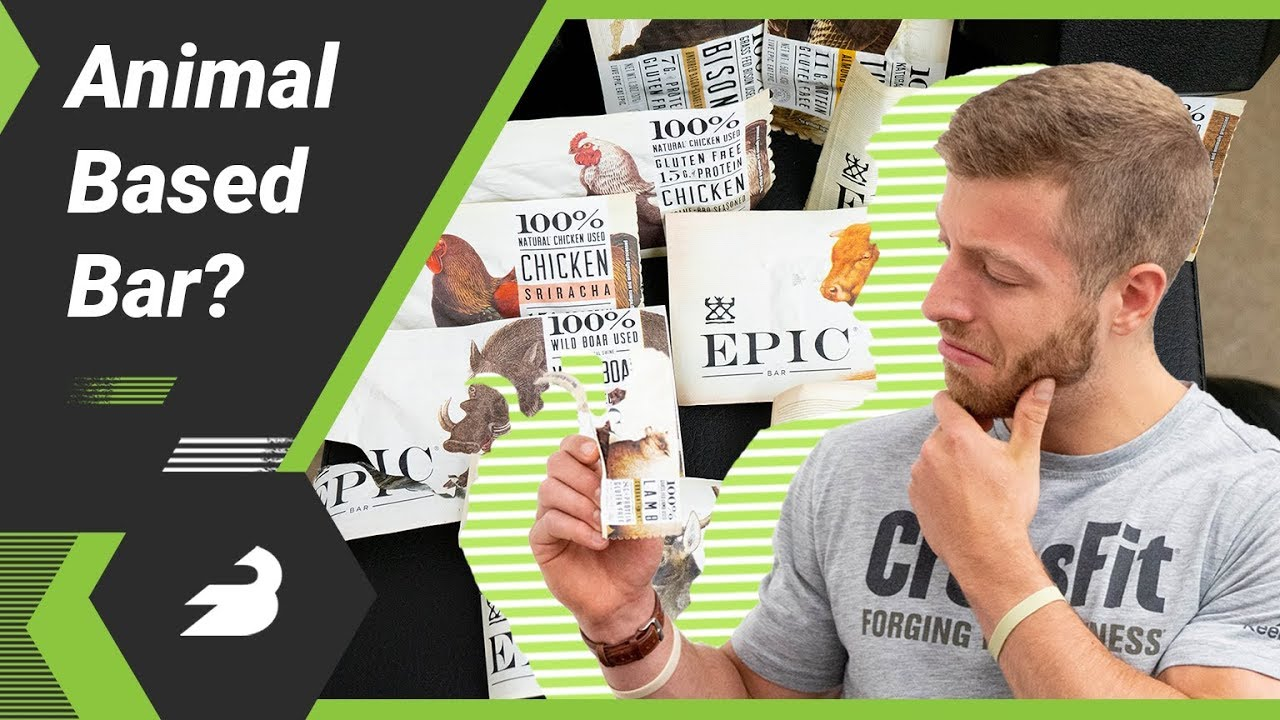 EPIC Protein Bars Review — Meat Based