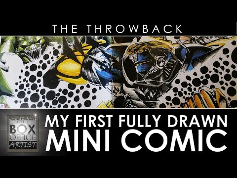 MY FIRST FULLY DRAWN MINI COMIC - THE THROWBACK EP 03