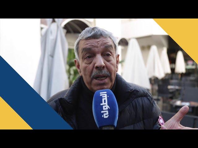 محمد أبو السهل : أرضية ملعب محمد الخامس لم تتقبل غزارة الأمطار في مباراة الرجاء و تونغيث