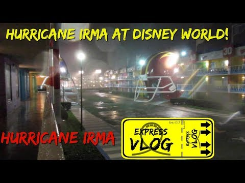 HURRICANE IRMA AT DISNEY WORLD! SURVIVAL AT THE ALL STAR RESORT!