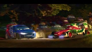 Cars 2 all WRC Car scenes in Movie Citroën C4