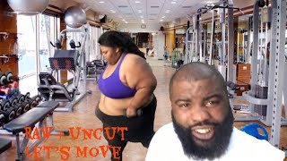 DAY 1 OF THE LETS MOVE CHALLENGE| PRISSY P|  nutrition | Full body workout |  health