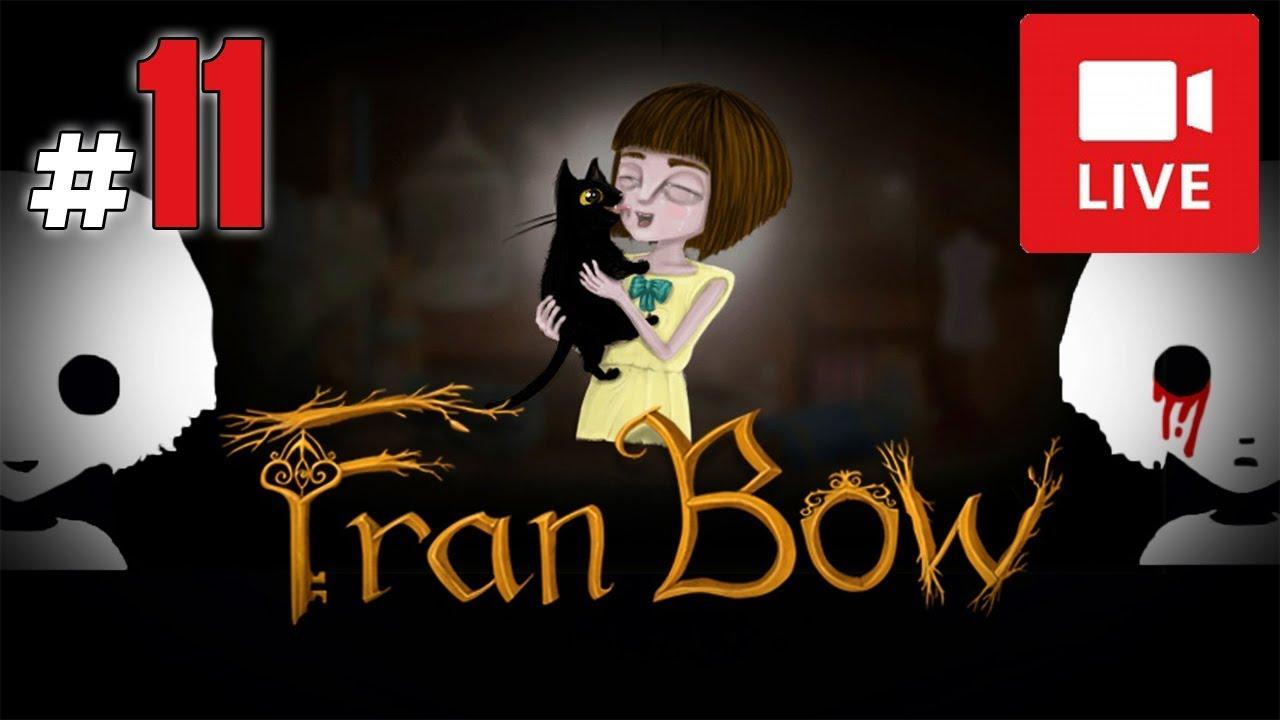 """[Archiwum] Live – Fran Bow! (7) – [1/2] – """"Czarodziej i zagadki"""""""