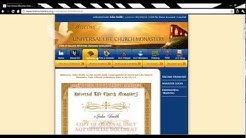 Fastest way to become Ordained Minister and be able to perform Weddings