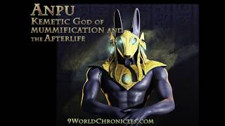 Anpu, Kemetic God of the Afterlife aka Anubis