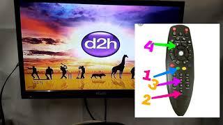 Videocon D2H logo hanging all setup box ke liye Akhil free Dish Videocon Dish Akhil Siddiqui