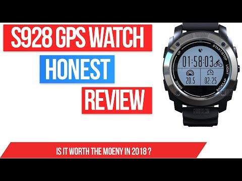 S928 GPS Smartwatch review - Cheap smart watch with heart rate sensor!
